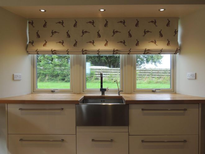 Handmade Blinds for Kitchen