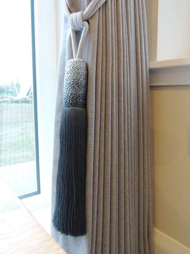 Matching curtain tassels