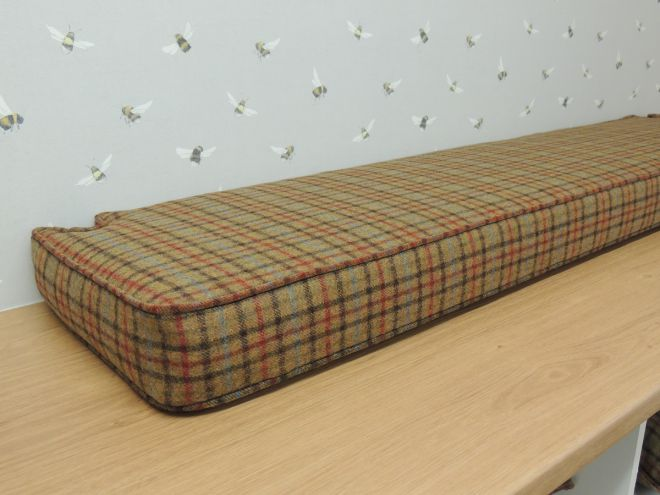 Covered Bench Cushions