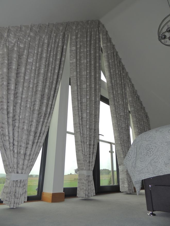 Bespoke Curtains for Apex Window