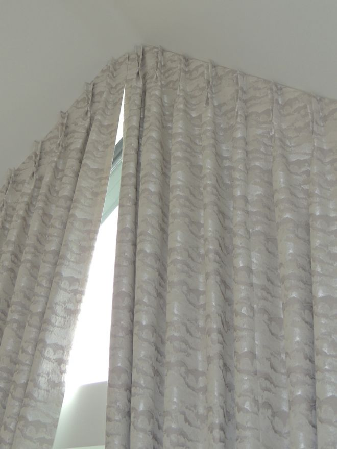 designing and fitting bespoke Apex window curtains