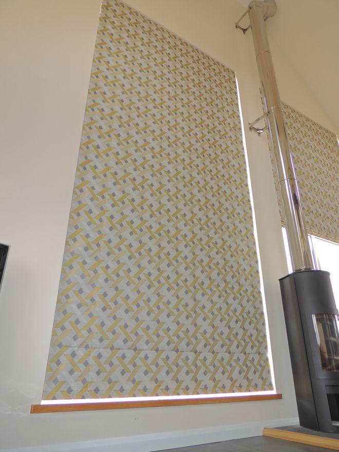 Gable end blinds - Jenny Davis